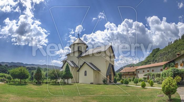 Moraca Monastery in Montenegro Photo #59570