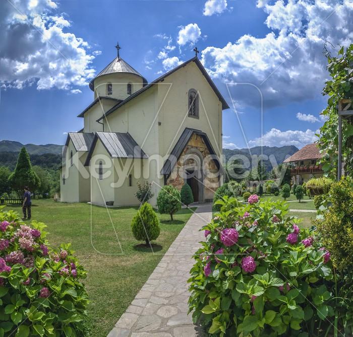 Moraca Monastery in Montenegro Photo #59571