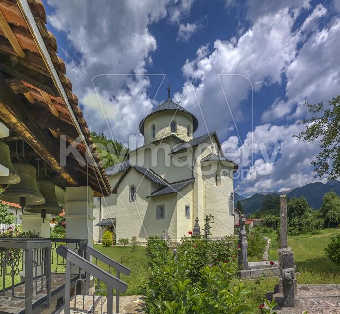 Moraca Monastery in Montenegro Photo #59572