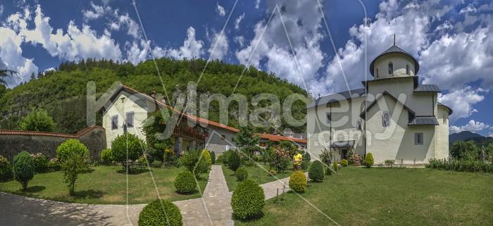 Moraca Monastery in Montenegro Photo #59573