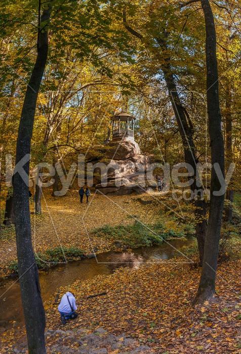 Old Alcove in Sofiyivka Park in Uman, Ukraine Photo #59594