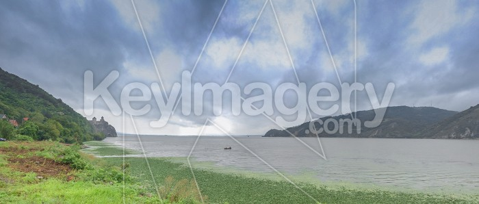 Panoramic view of the Danube River from Golo Brdo, Serbia Photo #59143