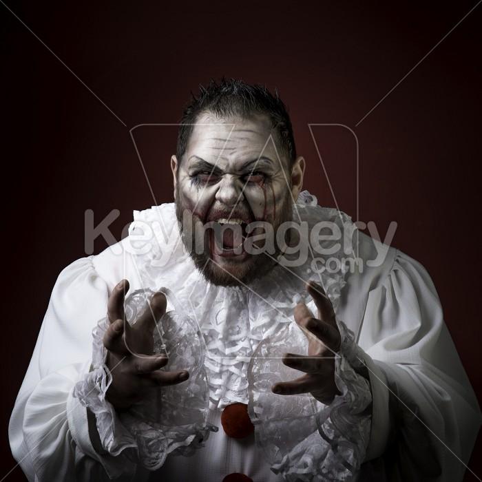 Scary Evil Clown Photo #59585