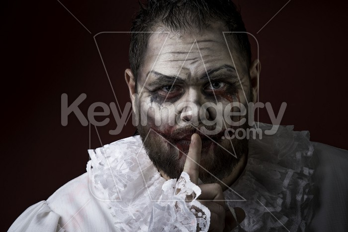 Scary Evil Clown Photo #59587
