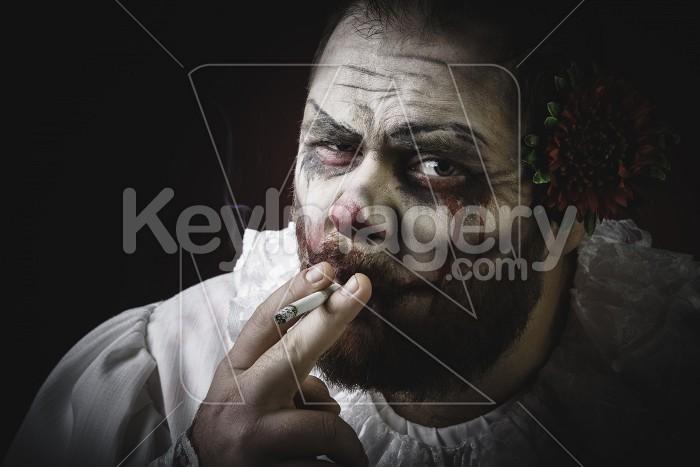 Scary Evil Clown Photo #59588