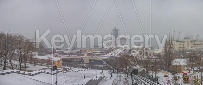 Snowy morning in Odessa, Ukraine Photo #59557
