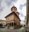 Old Kretzulescu Church in Bucharest Romania