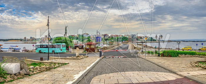 View of the New Town of Nessebar, Bulgaria Photo #62641