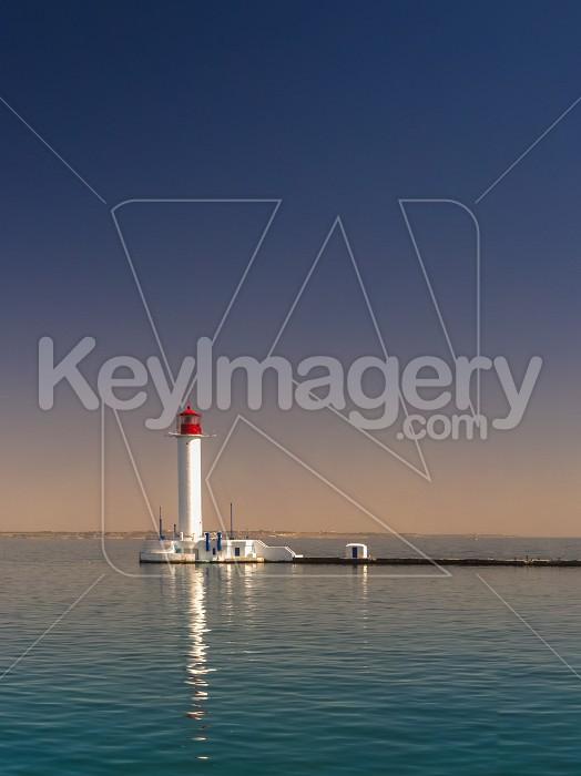 Vorontsov Lighthouse in the Port of Odessa, Ukraine Photo #59192