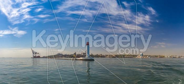 Vorontsov Lighthouse in the Port of Odessa, Ukraine Photo #59195