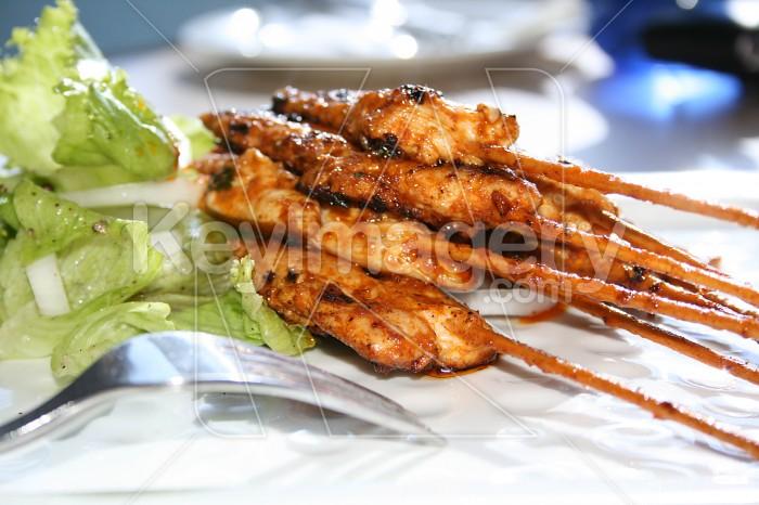 Chicken Satay Photo #6602
