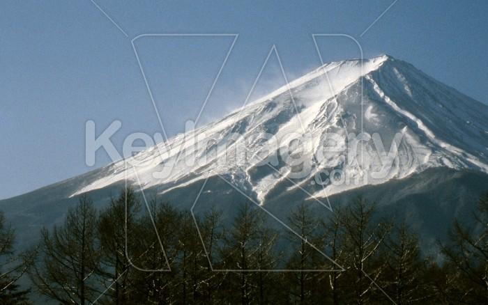 Windswept Mount Fuji Photo #7930