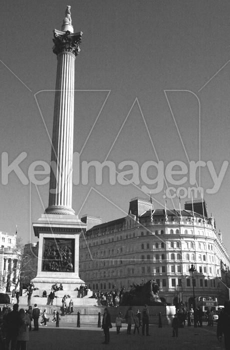 Nelsons Column Trafalgar sq Photo #12529