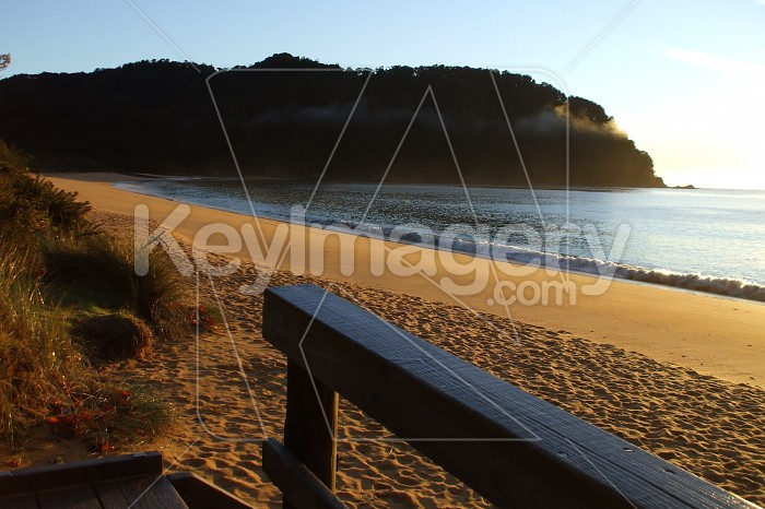 Morning on Totaranui Beach Photo #12704