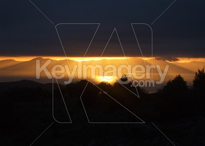 Sunset From Takaka Hill Photo #12661