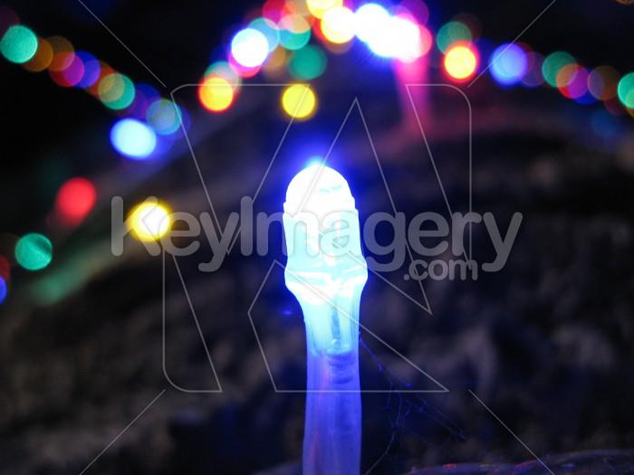 Blue light Photo #6134