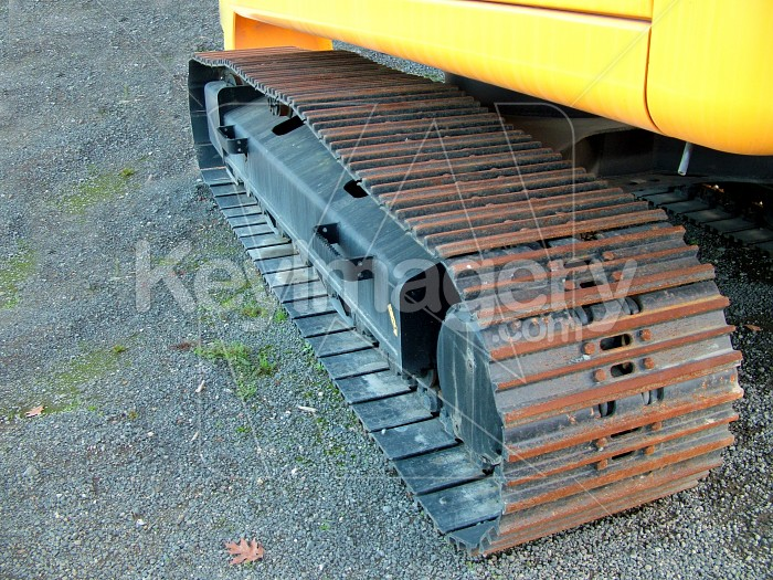 bulldozer track full view Photo #1530
