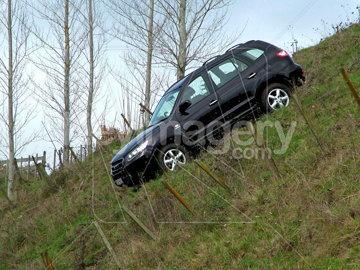 car parked on a hill Photo #2450
