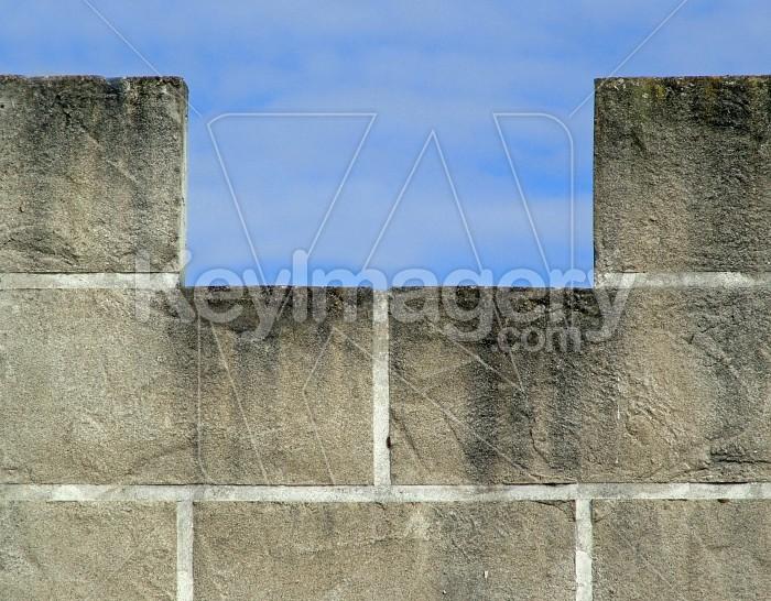 castle wall Photo #1196