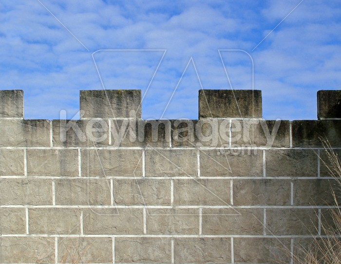castle wall Photo #1617