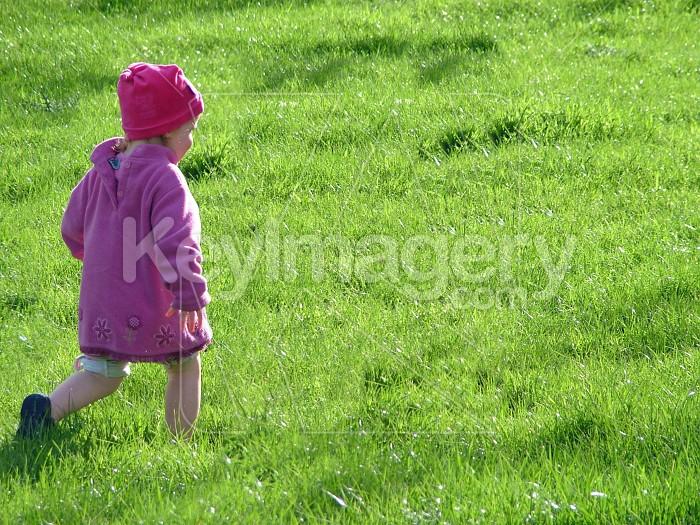 Child on a walk Photo #4777
