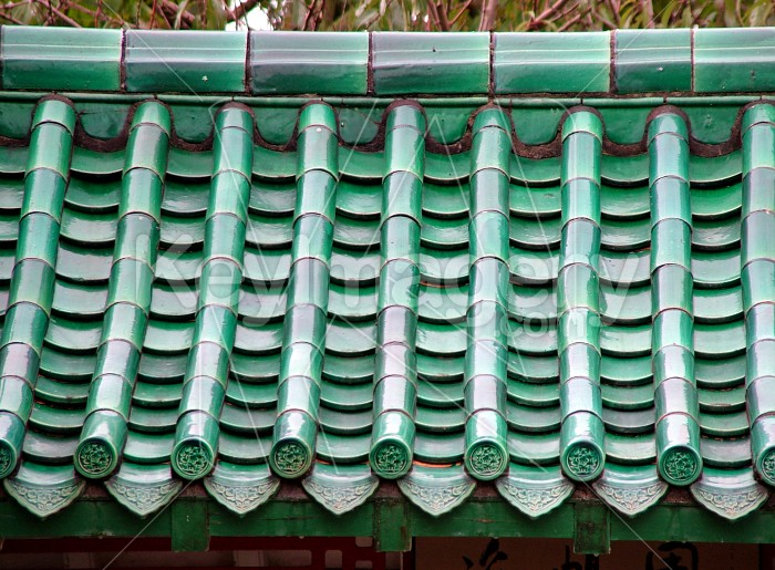 chinese building roof Photo #1329
