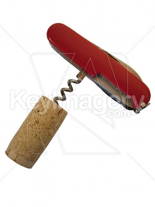 cork on pocketknife Photo #4525