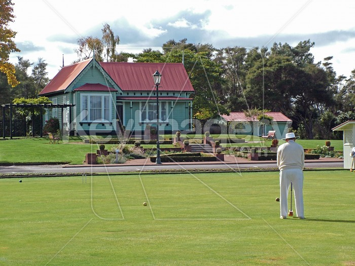 croquet on the lawn Photo #1227