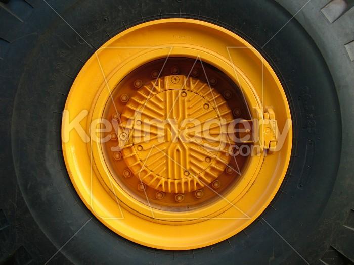 digger tyre close up Photo #1441