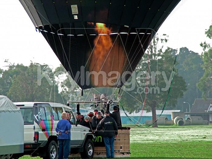 firing up balloon Photo #1708