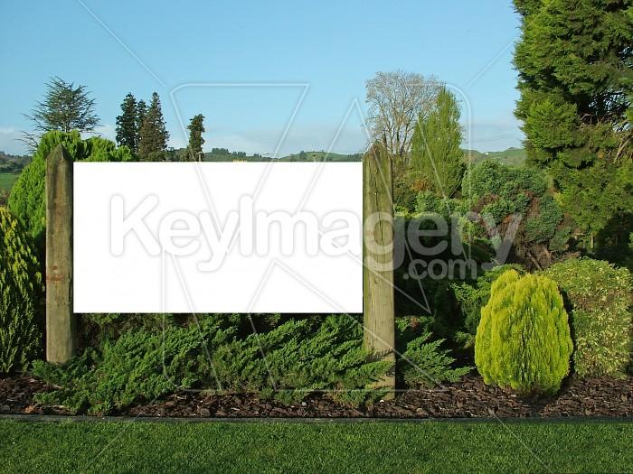 Garden sign Photo #4756