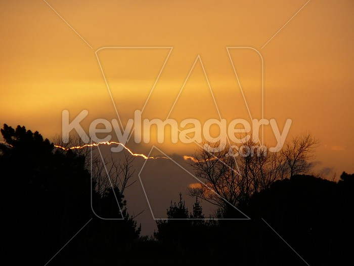 gold sunset Photo #1853