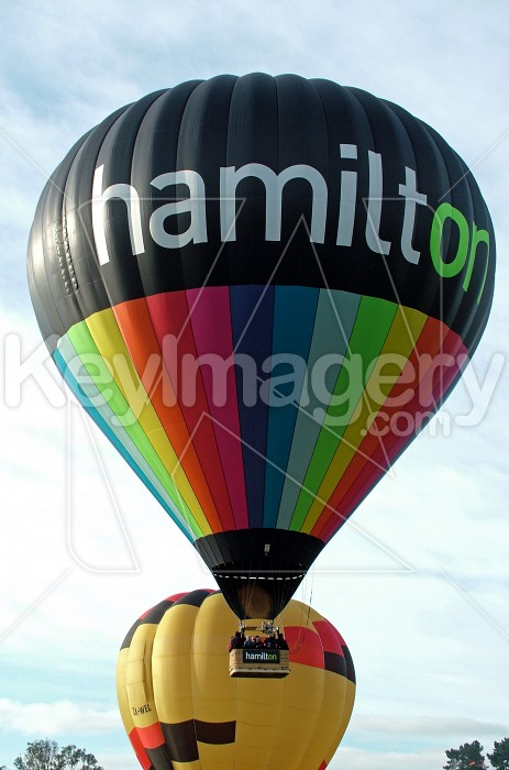 hamilton balloon taking off Photo #1562