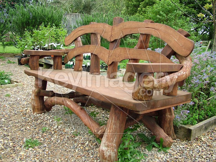 hand made park bench Photo #4707