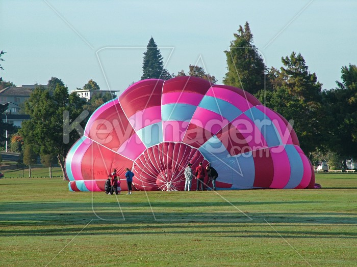 hot air balloon beginning Photo #994