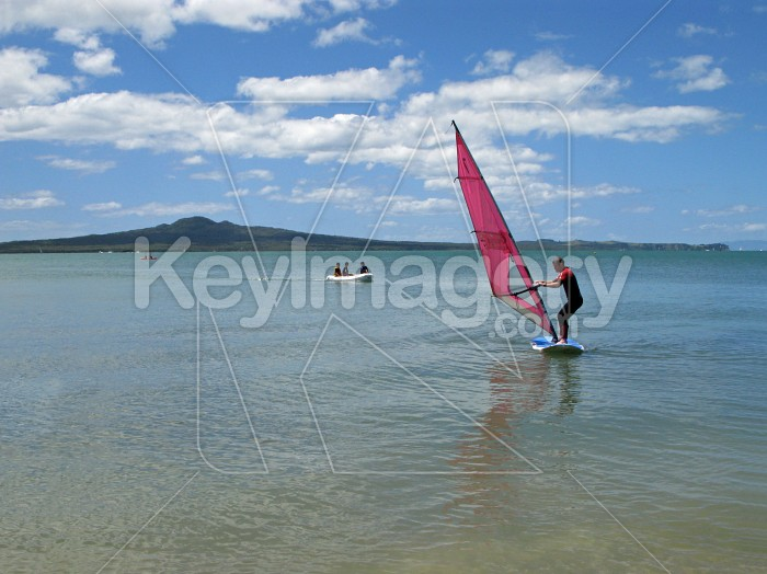 Learning to windsurf Photo #6207