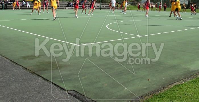 netball court corner Photo #2221