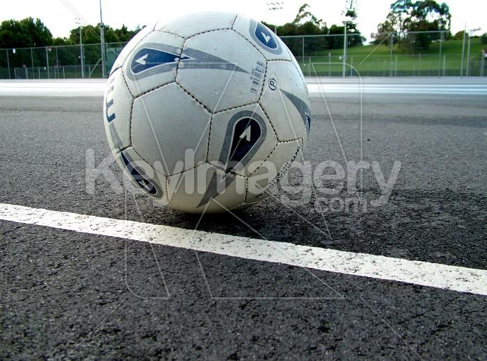 netball on court Photo #1391