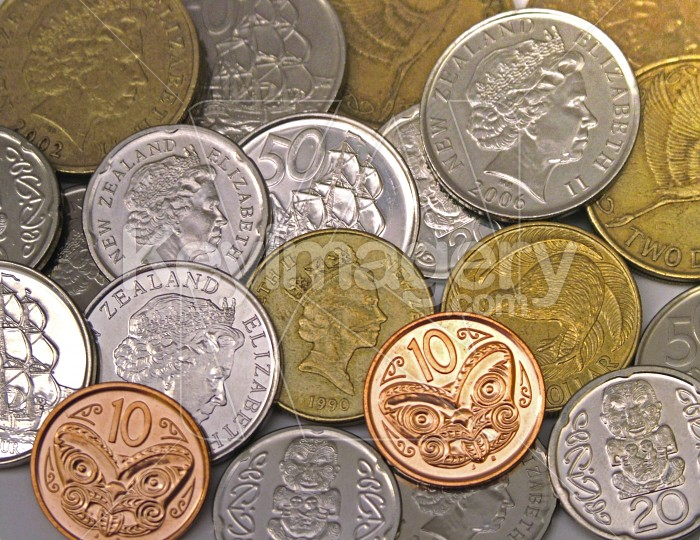 New Zealand coins Photo #945