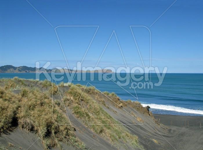 Ocean beach kawhia Photo #7640