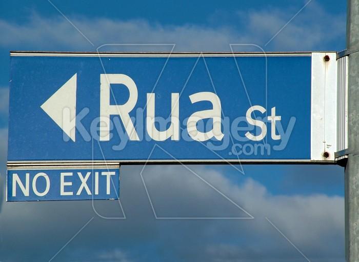 rua st sign Photo #1527