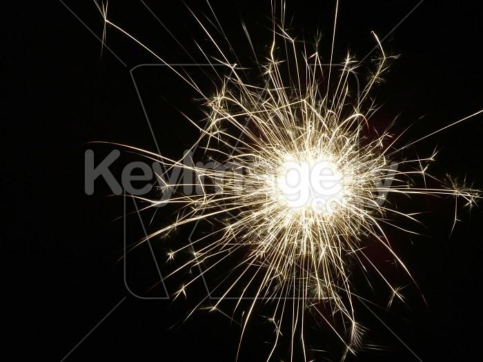 sparkler at night Photo #2288
