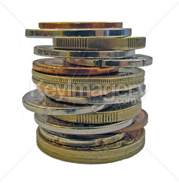 stack of New Zealand coins Photo #1975