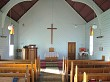 Inside country church