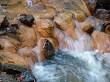 clay waterfall
