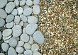 large and small mixed pebbles