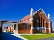 Methodist church side view