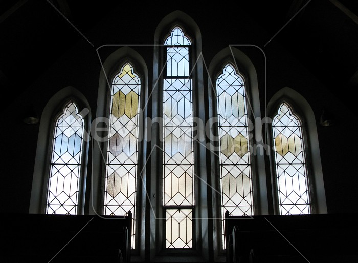 The church windows Photo #6423