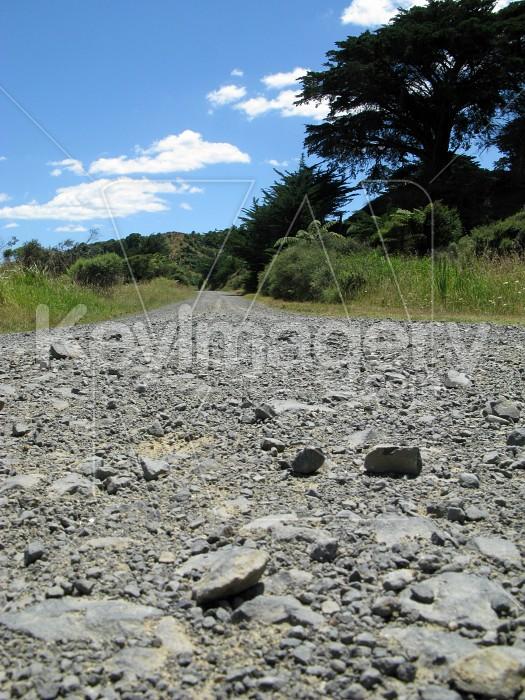 The flat gravel road Photo #7092