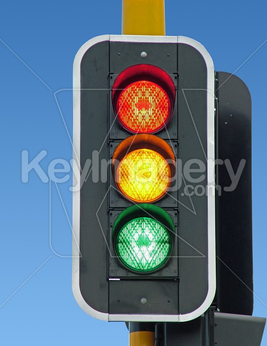 Traffic lights (all lights going) Photo #984